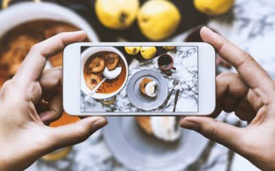 La food se commande sur Instagram