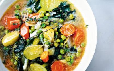 Le pistou aux légumes d'été de Perla